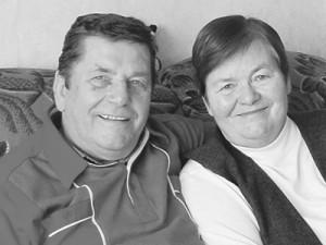 Dr. Rolf Meyerhöfer, hier mit seiner Frau Doris. Foto: Bezirks-Journal/ J. Kostow